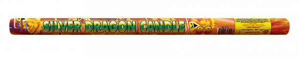 Римска свещ Сребърен дракон 1бр