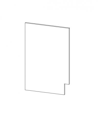 Талпи крайна страница - фурнирована на долен шкаф