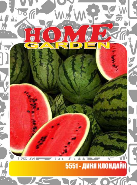 Семена за зеленчуци HomeGarden ДИНЯ Клондайк