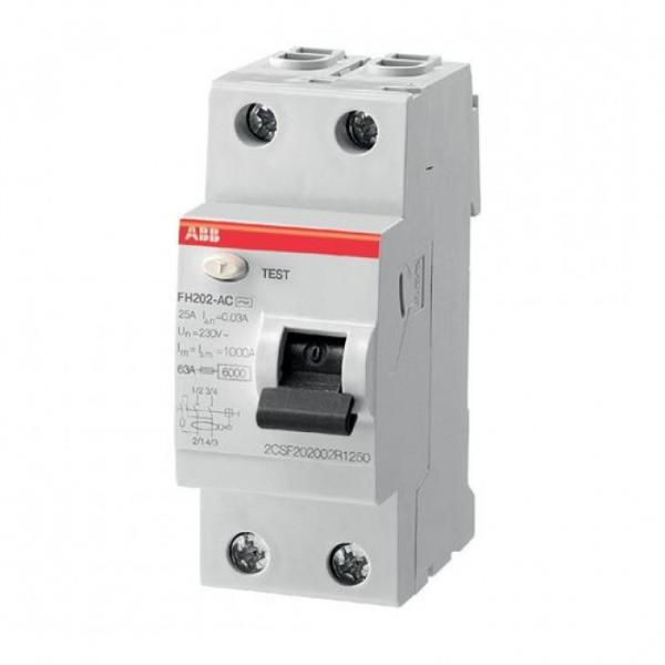 Дефектнотокова защита  FH202 AC-40/0.03- Compact Home на ABB