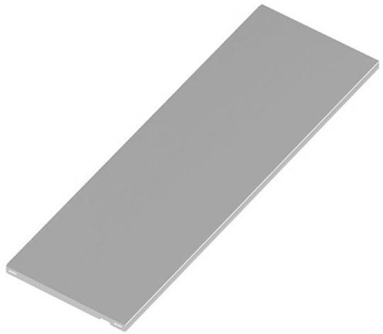 Стоманена полица 80х35 см,бяло