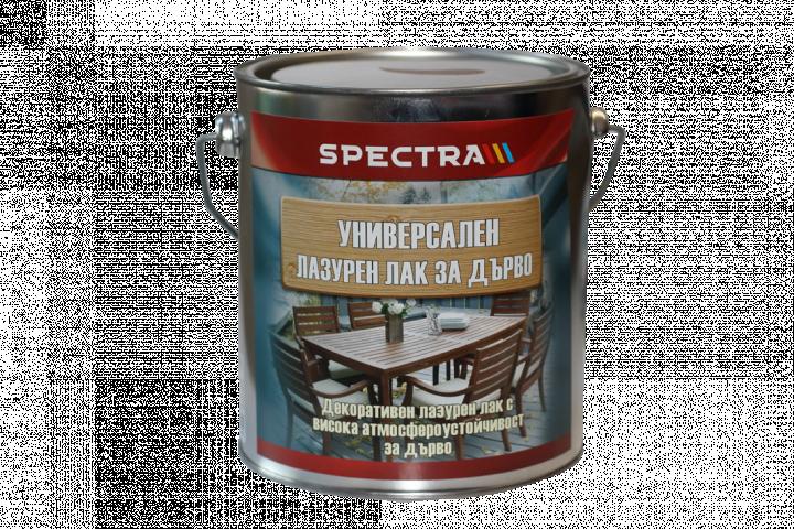 Универсален лазурен лак Spectra 2.5л, бор