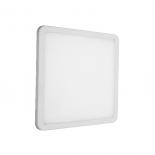 LED панел за вграждане 19W 1500lm 4000K IP44, квадрат