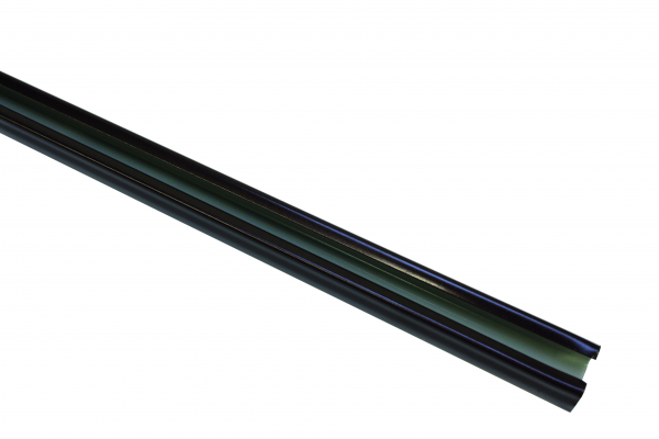 Корниз U-образна шина 290 см бронз