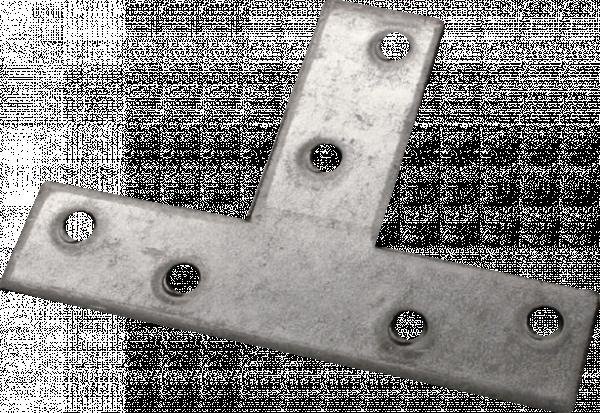 Т-плосък ъглов профил М856