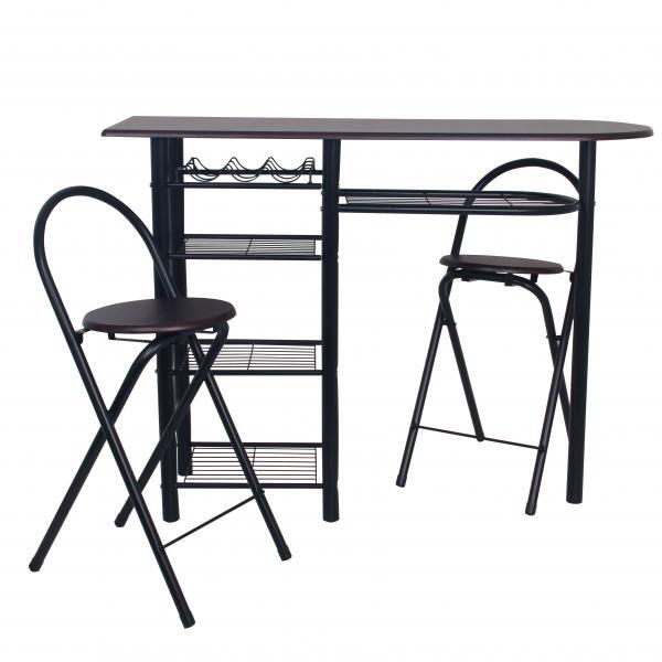 Бар маса с 2 стола