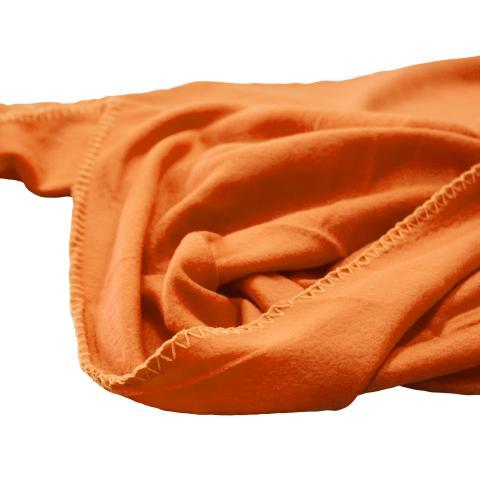 Одеяло Полар 130х160 см  оранжево 3