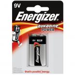 Батерия Energizer Alkaline Power 9V 1бр.