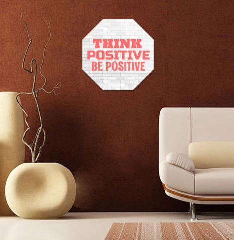 Картина с рамка ''Think positive'' 2