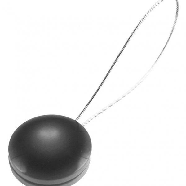 Магнит за перде Pearls сиво