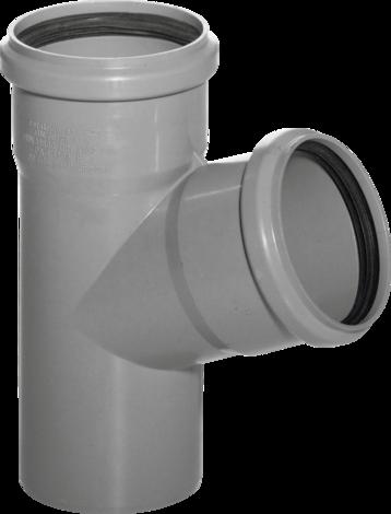 PVC единичен разклонител 87°110/110