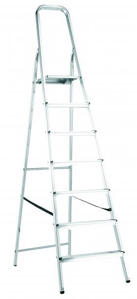 Стълба алуминиева 7 стъпала