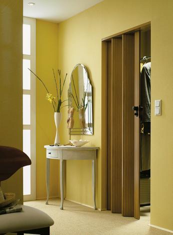 Сгъваема врата RAPID 88 бял ясен