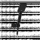 Душ слушалка комплект MINI PATRAS черен мат