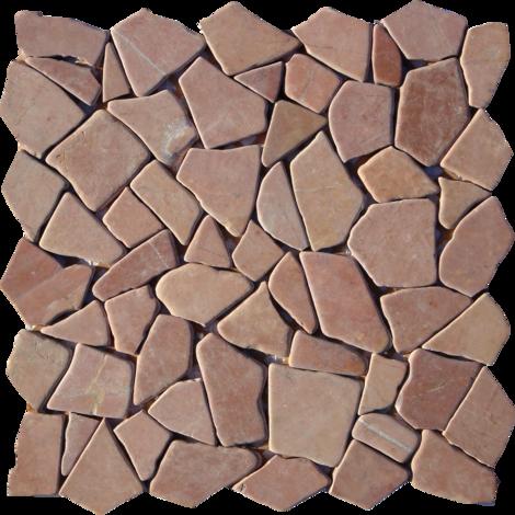 Моз. естествен камък червена