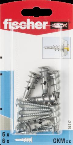 Метален дюбел за гипсокартон Fischer GKMSK
