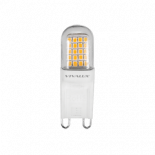 LED крушка 2.5W G9 топла 250lm