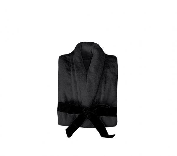 Халат за вкъщи черен S/M/L/XL/XXL