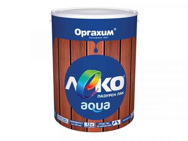 Паркетен лак Лeко Aqua 0.7л, безцветен