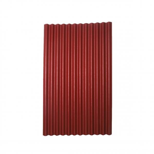 Вълнообразни плоскости Ondumax, червен матиран цвят
