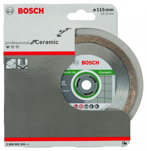 Диамантен диск Bosch Ceramic 115mm