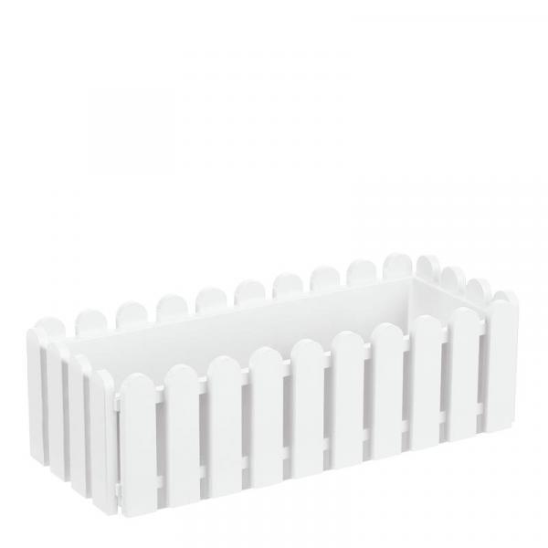 Сандъче Ландхаус 50 см бяло