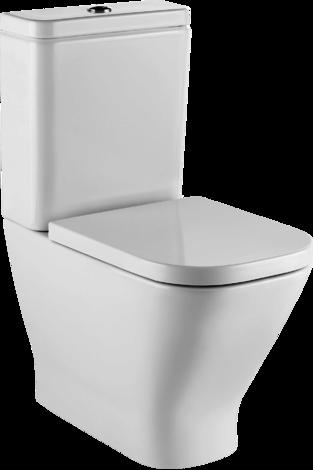 Тоалетна чиния GAP от моноблок,  хоризонтално оттичане