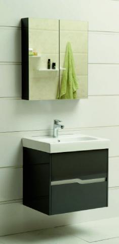 Мебел за баня Рейна сива