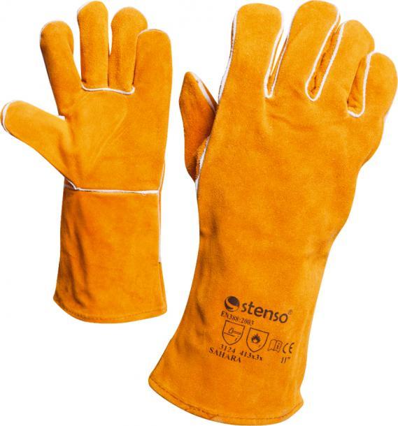 Ръкавици от цепена кожа  р-р 11 SAHARA