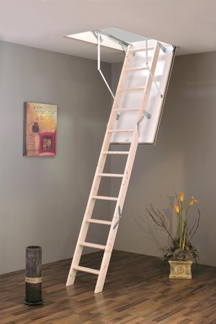 Таванска стълба ''Традицион'' 119 / 69 / 280 см