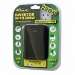 Инвертор 12V-230V/200W, с USB 5V