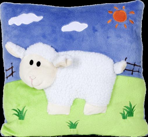 Възглавничка 3D 30х30см овца