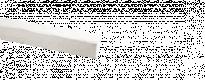 Декор. PU - греда В0906 / 2м / бяла