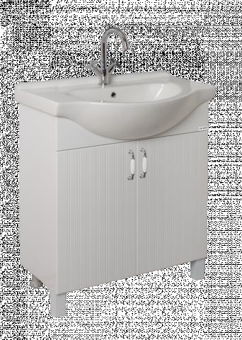 Долен шкаф Парос с мивка 75 см
