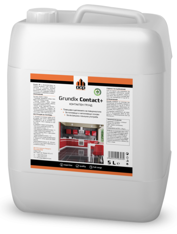 Водоразредим контактен грунд  Grundix Contact + 5 л