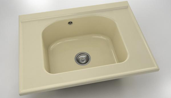 Кухненска мивка модул Полимермрамор FAT/2180300/ 60x80