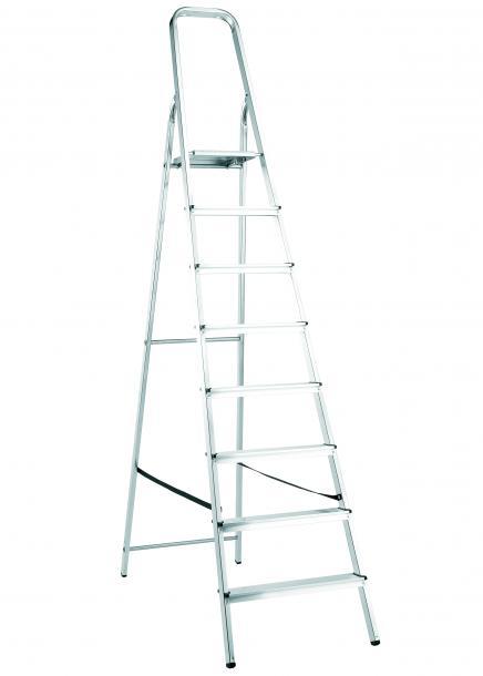 Стълба алуминиева 8 стъпала