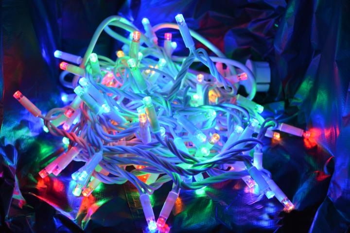Светещ гирлянд 100LED разноцветни OUT 3