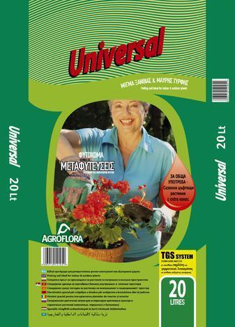 Почва за цветя Universal 20 л