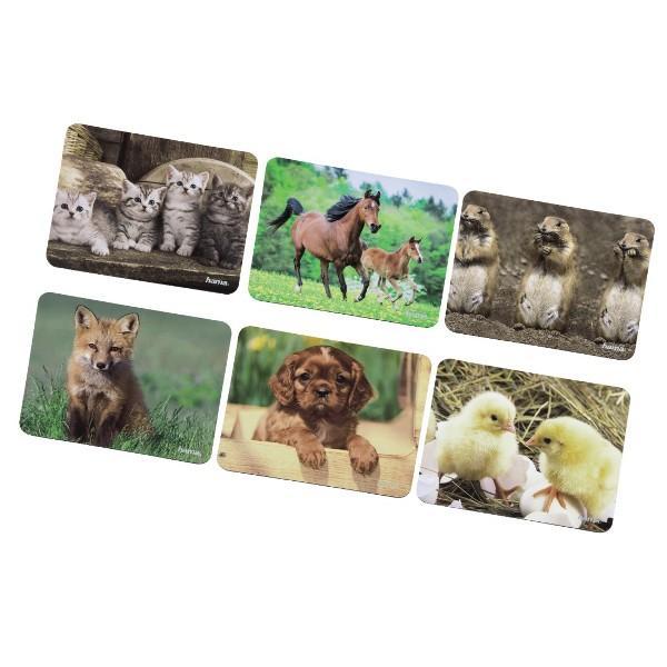 Пад за мишка със снимки на животни