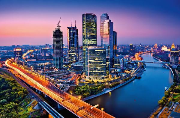 Фототапет Moscow Twilight 366х254 см