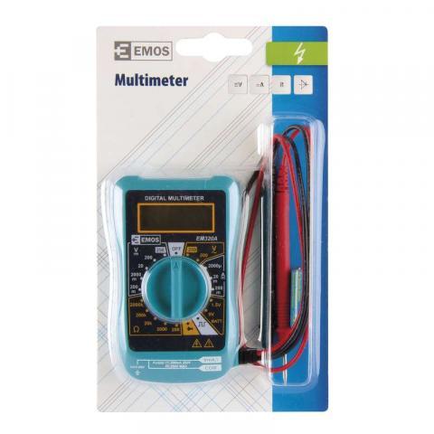 Мултиметър  EMOS 250V 2