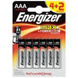 Батерия Energizer Max AAA 1.5V 4+2бр