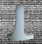 Основа стенна за абажур - Бяла