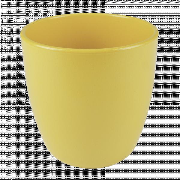 Кашпа Еми 13.5 см жълта