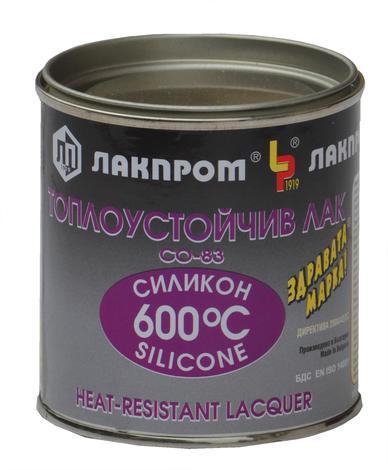 Топлоустойчива боя 600 С черна 300 гр