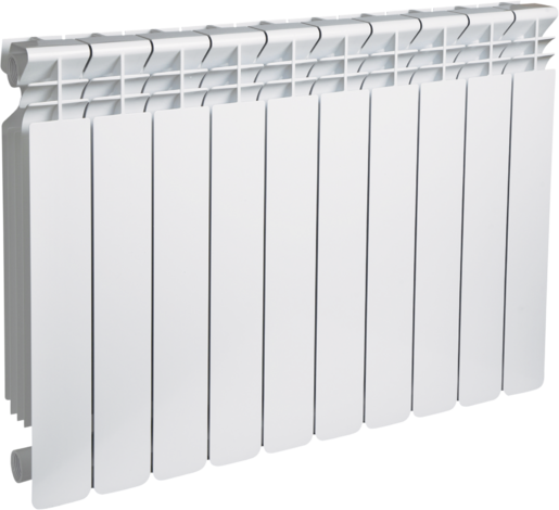 Алуминиев радиатор Нelyos 600 мм