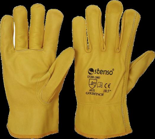 Ръкавици GOLDFINCH/тел. кожа