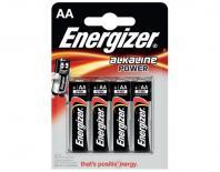 Батерия Energizer Alkaline Power AA 1,5V 4бр.