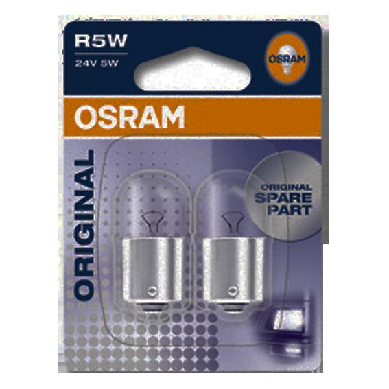 Aвт.лампа 5W Osram 24V BA15s